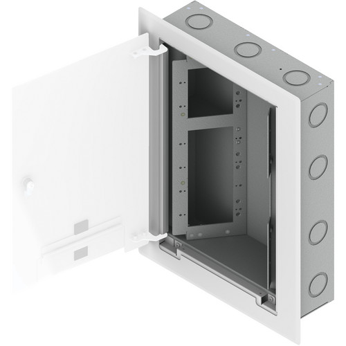 FSR WB-X3-GNG Wall Box (10 Gang Openings (3 x 2 & 1 x 4) With Knock-Outs)