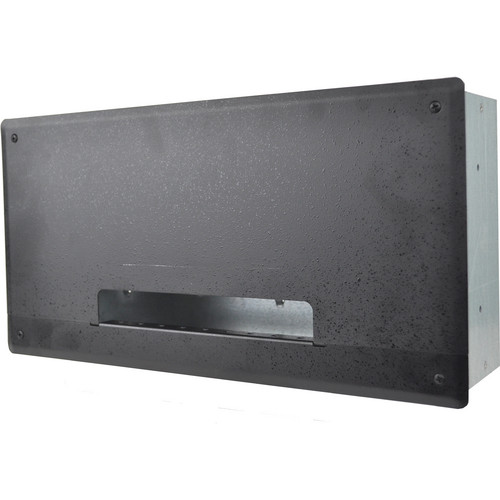 FSR PWB-250 Plasma/Flat Panel Display Wall Box (Black)