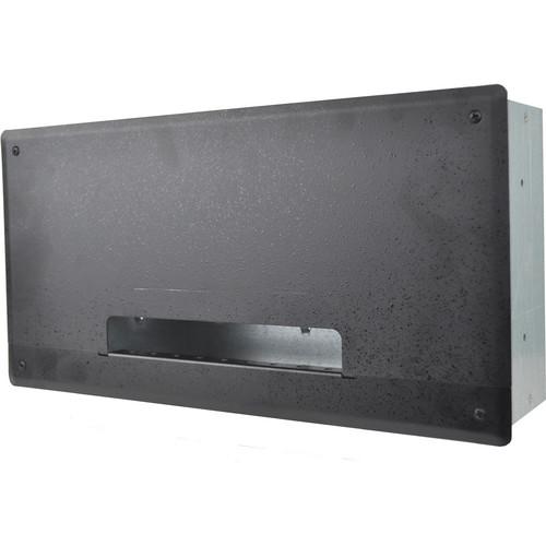 FSR PWB-250 Plasma/Flat Panel Display Wall Box (Black)