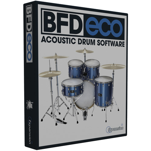 FXpansion BFD Eco - Software Instrument for Acoustic Drums