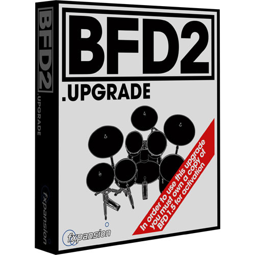 FXpansion BFD2 (Upgrade) - Acoustic Drum Production Workstation - For Owners of BFD 1.5
