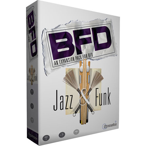 FXpansion Jazz and Funk Collection Expansion Pack for BFD