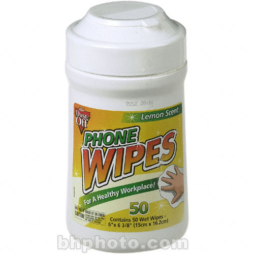 Falcon Phone Wipes - (50 Count)