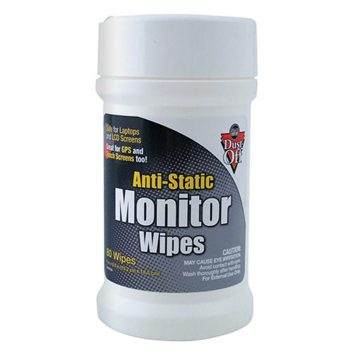 Falcon Anti Static Monitor Wipes (80 Count)