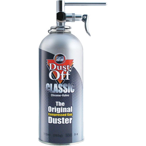 Falcon Dust-Off Kit with Chrome Nozzle (100% Ozone Safe)