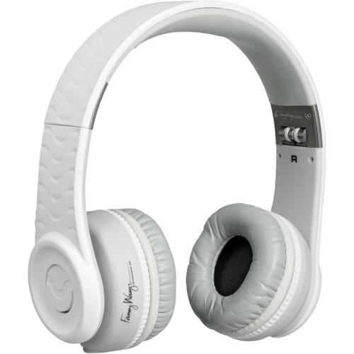 Fanny Wang 1000 Series On Ear Wangs Luxury Headphones (White)