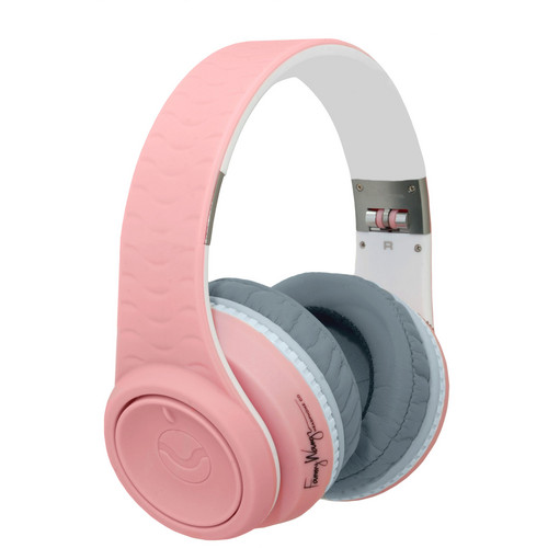 Fanny Wang 2000 Series Over Ear Wangs Headphones (Pink/White)