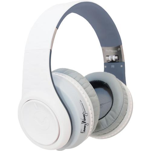 Fanny Wang 3000 Series Over Ear Wangs Noise Canceling Headphones (White)