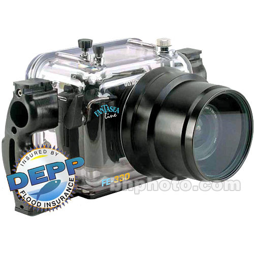 Fantasea Line FE-330 Underwater Housing for Olympus E-330 with Standard Port