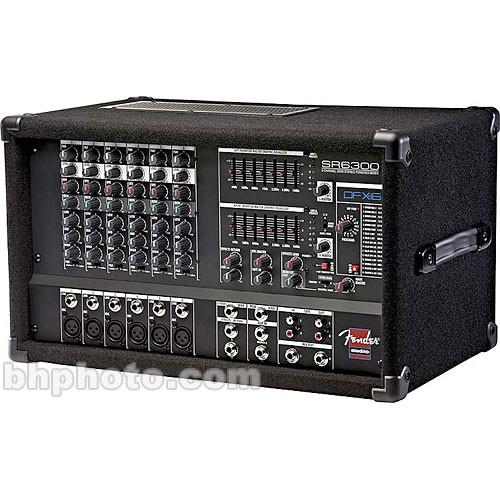 Fender SR6300  Powered Mixer