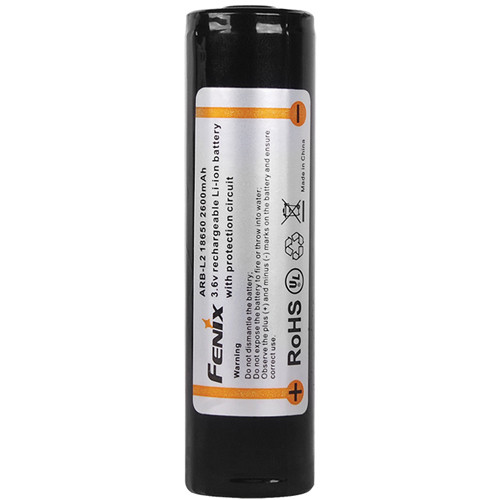 Fenix Flashlight Rechargeable ARB-L2 18650 Li-Ion Battery