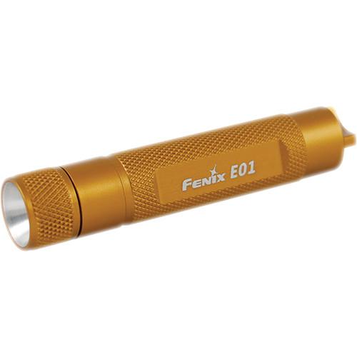 Fenix Flashlight E01 Flashlight (Gold)