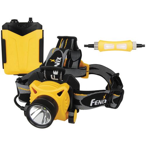 Fenix Flashlight HP20 LED Headlamp (Orange)
