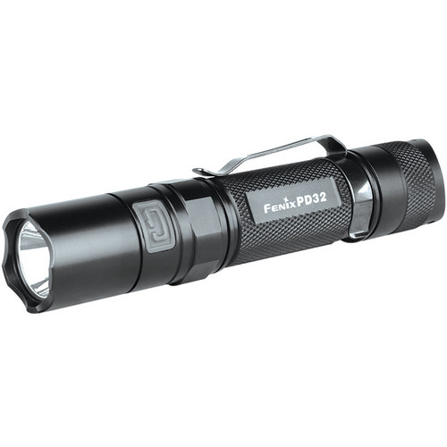 Fenix Flashlight PD32 LED Flashlight (Black)