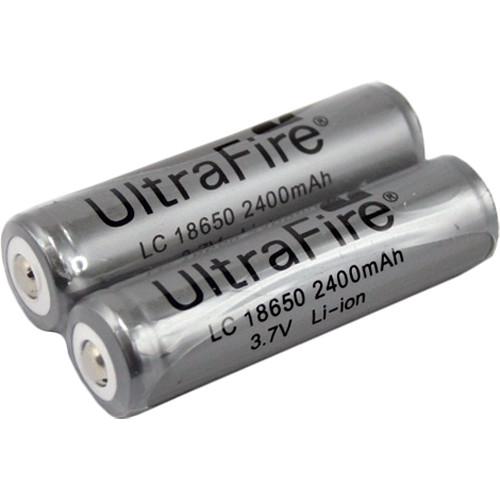 Fenix Flashlight UltraFire Rechargeable 18650 Batteries (2Pk)