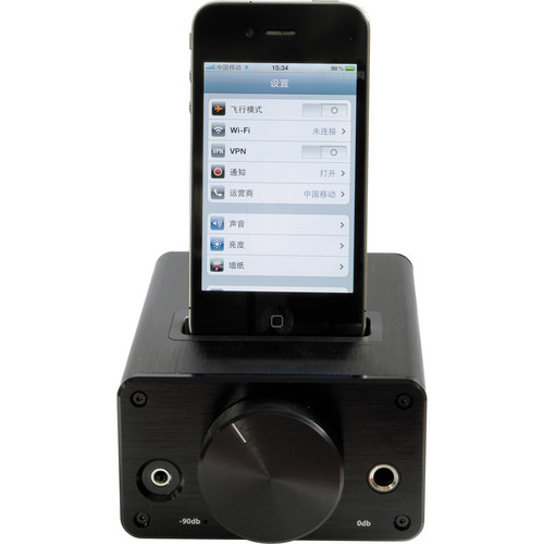 FiiO E9i Desktop Headphone Amplifier with iPod Dock