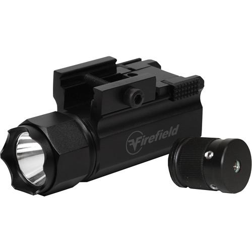 Firefield Interchangeable Tactical Flashlight/Green Laser Pistol Kit
