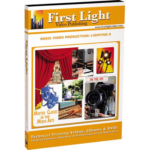 First Light Video DVD: Basics in Lighting: Part II