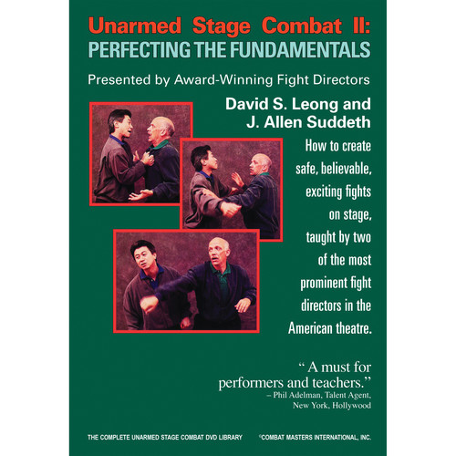 First Light Video DVD: Unarmed Stage Combat 2: Perfecting the Fundamentals