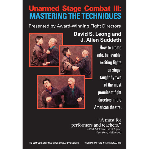 First Light Video DVD: Unarmed Stage Combat 3: Mastering the Techniques
