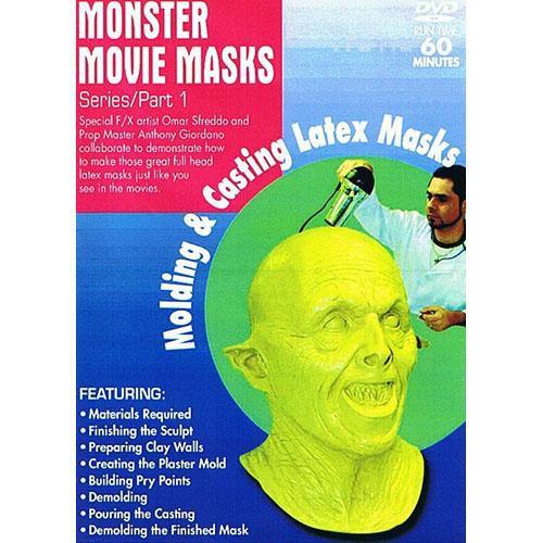 First Light Video DVD: Mask Making: Molding & Casting Latex Masks by Anthony Giordano & Omar Sfreddo