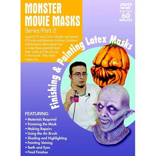 First Light Video DVD: Mask Making: Finishing & Painting Latex Masks