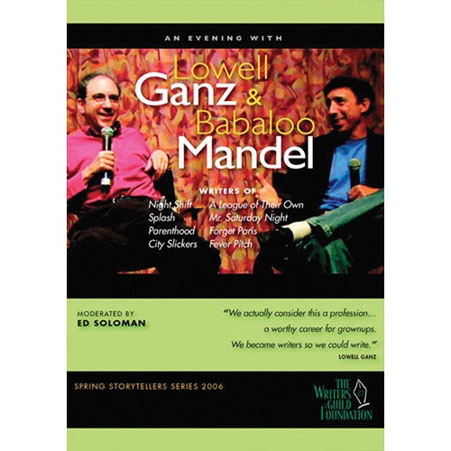 First Light Video DVD: Lowell Ganz & Babaloo Mandel