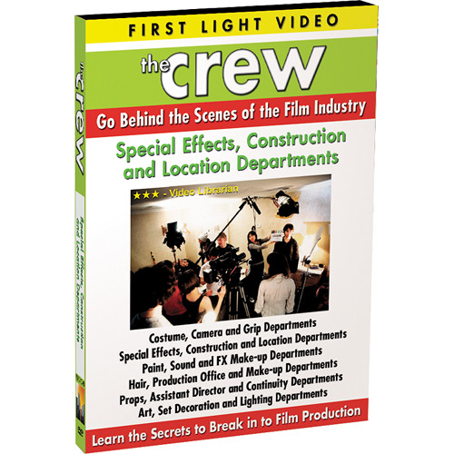 First Light Video DVD: Props, Assistant Director & Continuity Departments