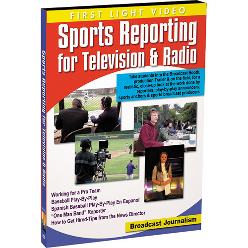 First Light Video DVD: Sports Reporting for Television & Radio
