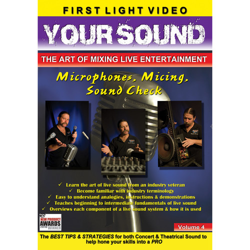 First Light Video DVD: Microphones, Micing & Sound Check