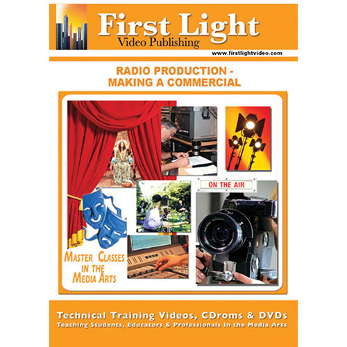 First Light Video DVD: Radio Production: Making A Commercial with Street Remley and Bob Dennis