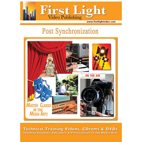 First Light Video Post Synchronization Training DVD