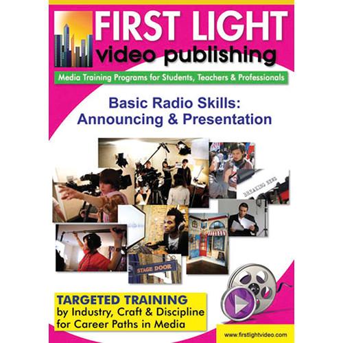 First Light Video DVD:  Basic Radio Skills: Announcing and Presentation