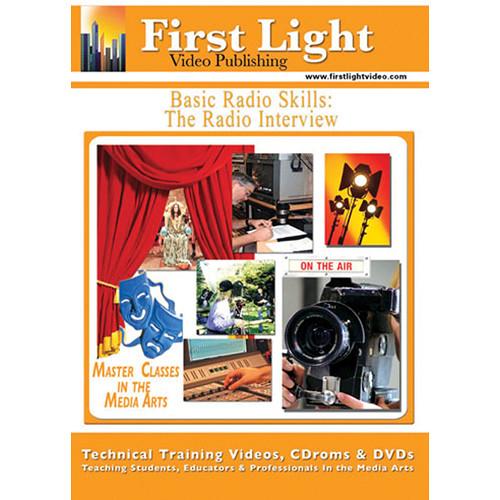 First Light Video DVD: Basic Radio Skills: The Radio Interview with Mike Broadhurst