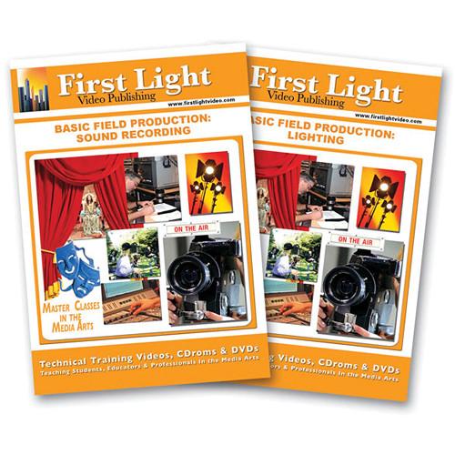 First Light Video DVD: Basic Field Production (2 Tape Set)