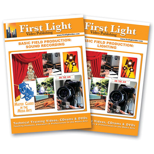 First Light Video DVD: Basic Field Production (2 Tape Set)