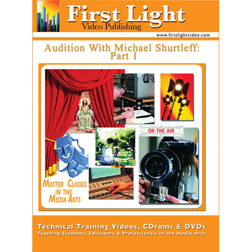 First Light Video DVD: Audition: The Video Series by Michael Shurtleff (4 DVDs)