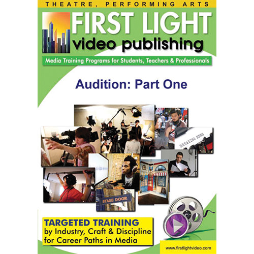 First Light Video DVD: Audition: Part One by Michael Shurtleff