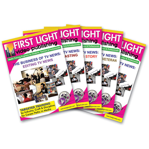 First Light Video DVD: Sports Reporting for Television & Radio (5 DVDs)