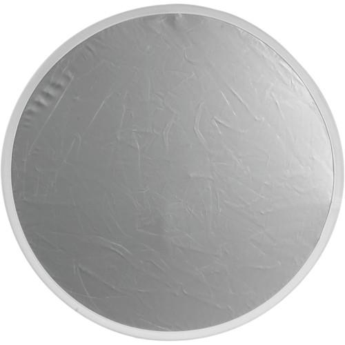 """Flexfill Collapsible Reflector - 20"""" Circular - Silver/White"""