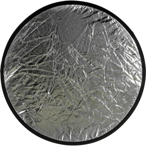 """Flexfill Collapsible Reflector - 20"""" Circular - Silver/Black"""