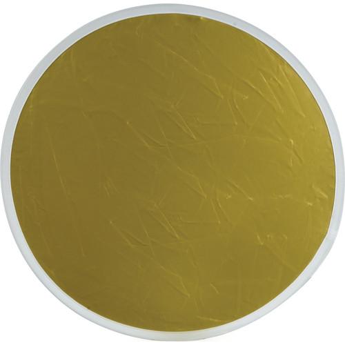 """Flexfill Collapsible Reflector - 48"""" Circular - Gold/White"""