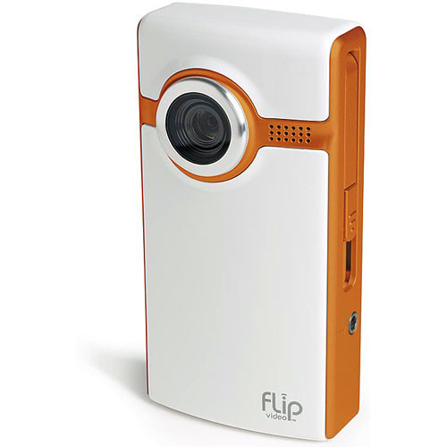 Flip Video Flip Video Ultra Camcorder  (Orange)