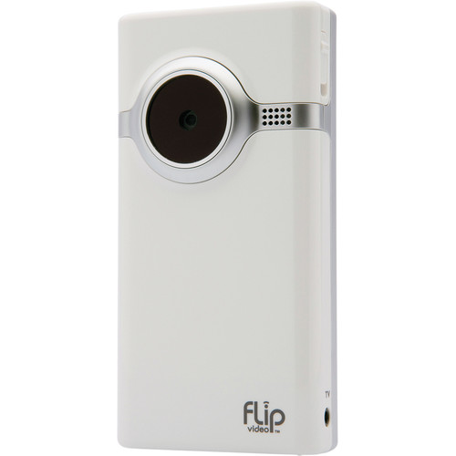 Flip Video Mino Camcorder (White)