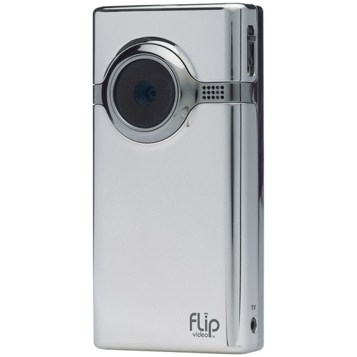 Flip Video MinoHD Camcorder (Chrome)