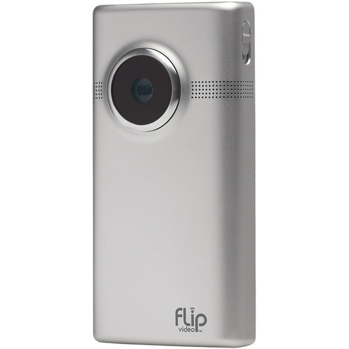 Flip Video MinoHD Camcorder (Brushed Metal)