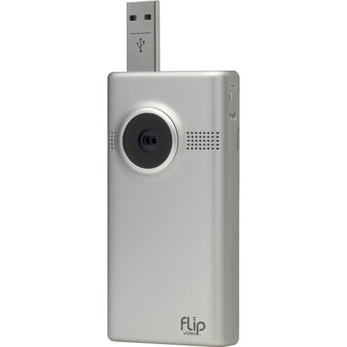Flip Video MinoHD Video Camera (Silver, 1 Hour)