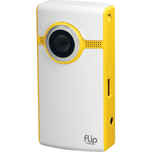 Flip Video Ultra Camcorder (Yellow)
