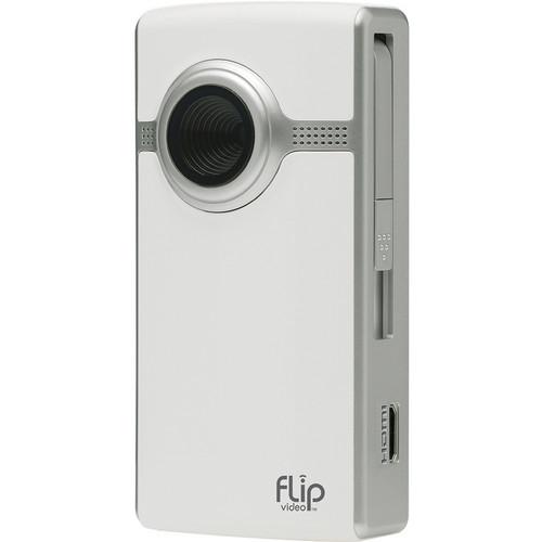 Flip Video UltraHD Video Camera (White, 1 Hour)