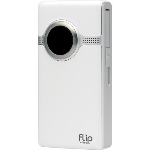 Flip Video UltraHD Video Camera (White, 2 Hours)